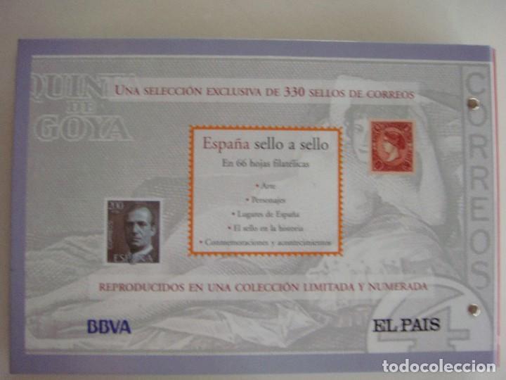 Sellos: España sello a sello, selección exclusiva de 330 sellos de correos, COMPLETO - Foto 2 - 157032626