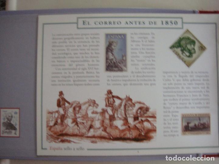 Sellos: España sello a sello, selección exclusiva de 330 sellos de correos, COMPLETO - Foto 3 - 157032626