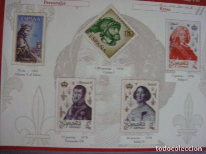 Sellos: España sello a sello, selección exclusiva de 330 sellos de correos, COMPLETO - Foto 5 - 157032626