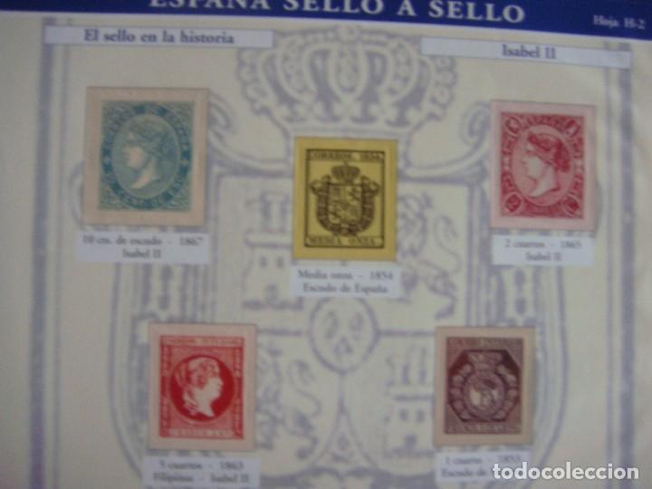 Sellos: España sello a sello, selección exclusiva de 330 sellos de correos, COMPLETO - Foto 6 - 157032626