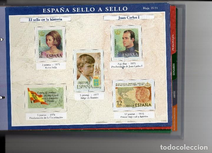 Sellos: España sello a sello, selección exclusiva de 330 sellos de correos, COMPLETO - Foto 7 - 157032626