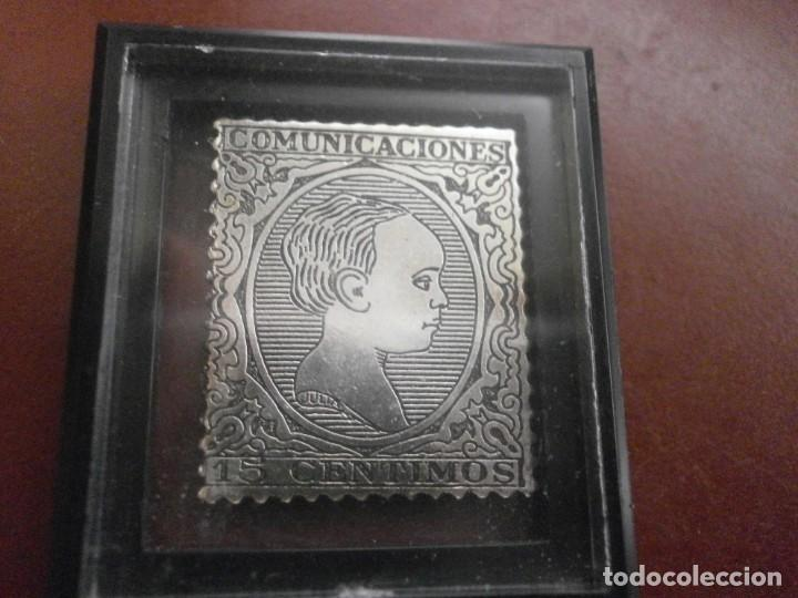 Sellos: ESTUCHE PRIMEROS SELLOS DE LA FILATELIA ESPAÑOLA Plata 999 6.50 gr cada sello Seli-D Or 18 SELLOS - Foto 4 - 215398265