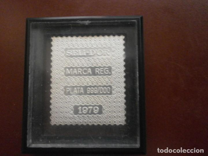 Sellos: ESTUCHE PRIMEROS SELLOS DE LA FILATELIA ESPAÑOLA Plata 999 6.50 gr cada sello Seli-D Or 18 SELLOS - Foto 5 - 215398265