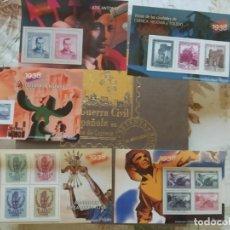 Briefmarken - 5 Hojas Bloque- Sellos Guerra Civil Española- El Mundo - 164603282