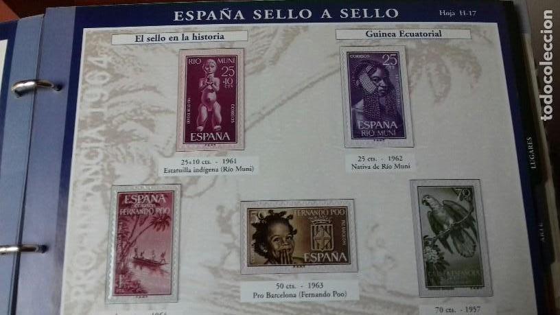 Sellos: ESPAÑA SELLO A SELLO. COLECCIÓN EDITADA POR EL PAÍS Y BBVA. ESPAÑA 2003. COMPLETA CON 330 SELLOS - Foto 4 - 164841314
