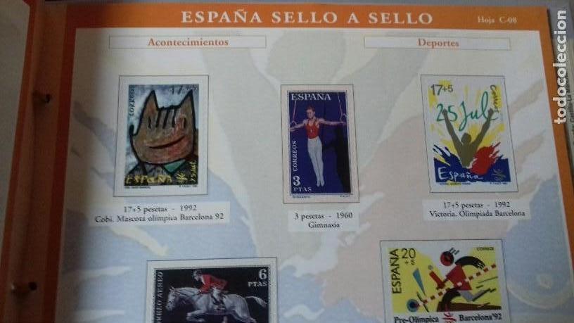 Sellos: ESPAÑA SELLO A SELLO. COLECCIÓN EDITADA POR EL PAÍS Y BBVA. ESPAÑA 2003. COMPLETA CON 330 SELLOS - Foto 7 - 164841314