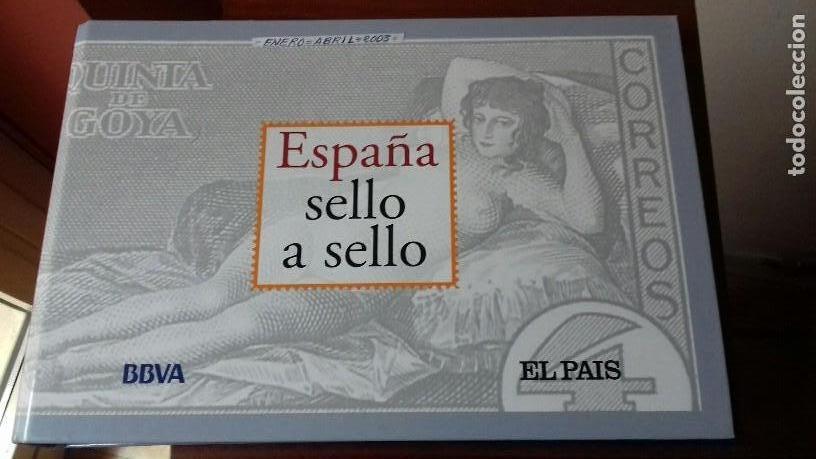 ESPAÑA SELLO A SELLO. COLECCIÓN EDITADA POR EL PAÍS Y BBVA. ESPAÑA 2003. COMPLETA CON 330 SELLOS (Filatelia - Sellos - Reproducciones)