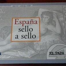 Sellos: ESPAÑA SELLO A SELLO. COLECCIÓN EDITADA POR EL PAÍS Y BBVA. ESPAÑA 2003. COMPLETA CON 330 SELLOS. Lote 164841314