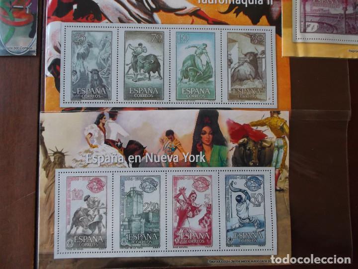 Sellos: conjunto de hojas de sellos facsimil en muy buen estado - Foto 7 - 165282218