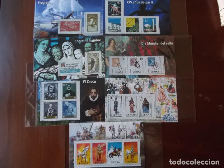 CONJUNTO DE HOJAS DE SELLOS FACSIMIL EN MUY BUEN ESTADO DIVERSOS TEMAS (Filatelia - Sellos - Reproducciones)