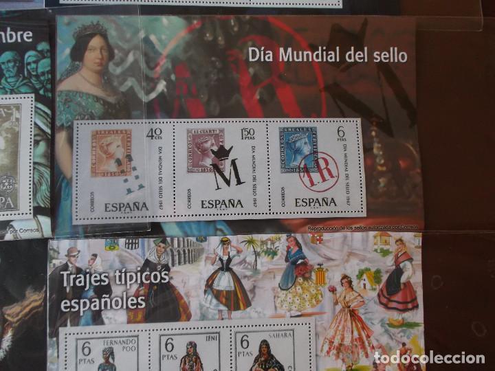 Sellos: conjunto de hojas de sellos facsimil en muy buen estado diversos temas - Foto 4 - 165282902