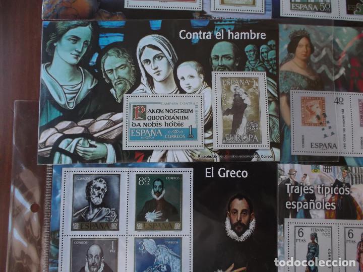 Sellos: conjunto de hojas de sellos facsimil en muy buen estado diversos temas - Foto 5 - 165282902