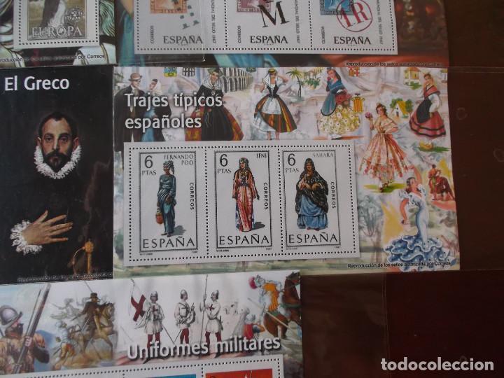 Sellos: conjunto de hojas de sellos facsimil en muy buen estado diversos temas - Foto 6 - 165282902