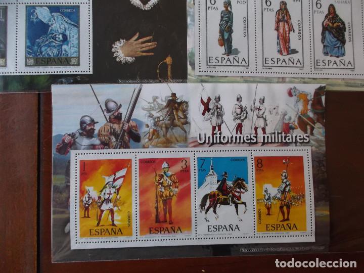 Sellos: conjunto de hojas de sellos facsimil en muy buen estado diversos temas - Foto 7 - 165282902