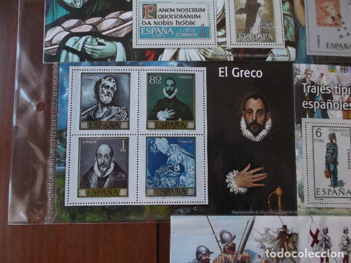 Sellos: conjunto de hojas de sellos facsimil en muy buen estado diversos temas - Foto 8 - 165282902