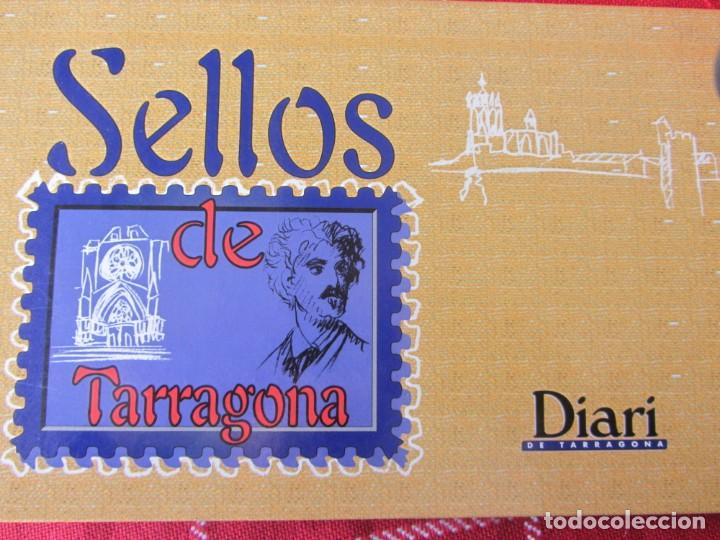 SELLOS DE TARRAGONA. DIARI DE TARRAGONA. COMPLETO (Filatelia - Sellos - Reproducciones)