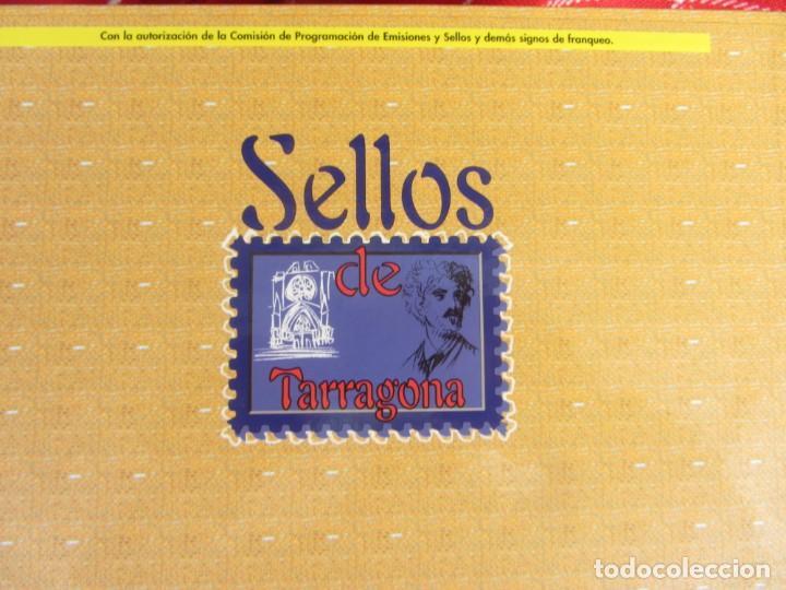 Sellos: SELLOS DE TARRAGONA. DIARI DE TARRAGONA. completo - Foto 2 - 167813332