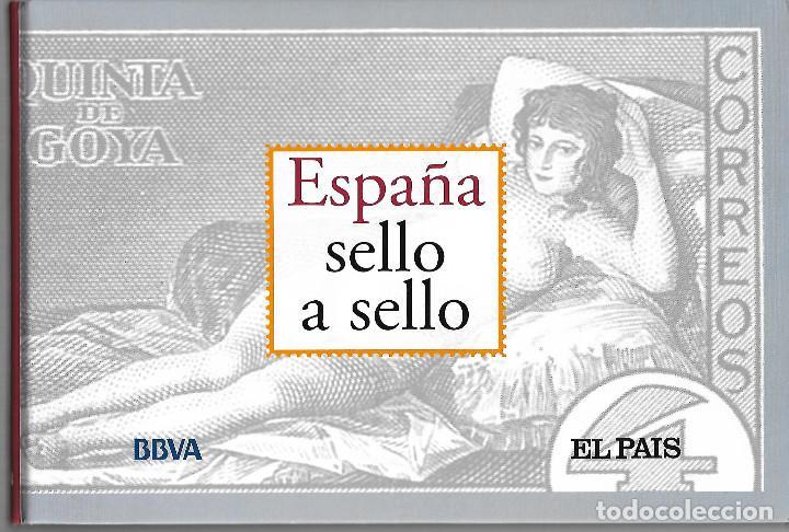 ESPAÑA SELLO A SELLO. HISTORIA,PERSONAJES COLECCION COMPLETA 330 SELLOS DE CORREOS. EL PAIS. (Filatelia - Sellos - Reproducciones)