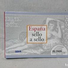 Sellos: COLECCIÓN DE EL PAÍS, ESPAÑA SELLO A SELLO, COMPLETA . Lote 173186323
