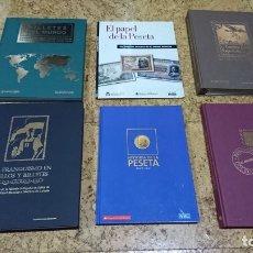 Sellos: LOTE, BILLETES, SELLOS, EL FRANQUISMO EN SELLOS Y BILLETES, HISTORIA DE LA PESETA . Lote 173943104