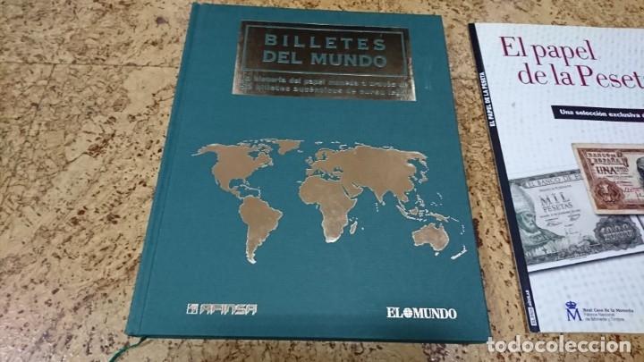Sellos: LOTE, BILLETES, SELLOS, EL FRANQUISMO EN SELLOS Y BILLETES, HISTORIA DE LA PESETA - Foto 2 - 173943104