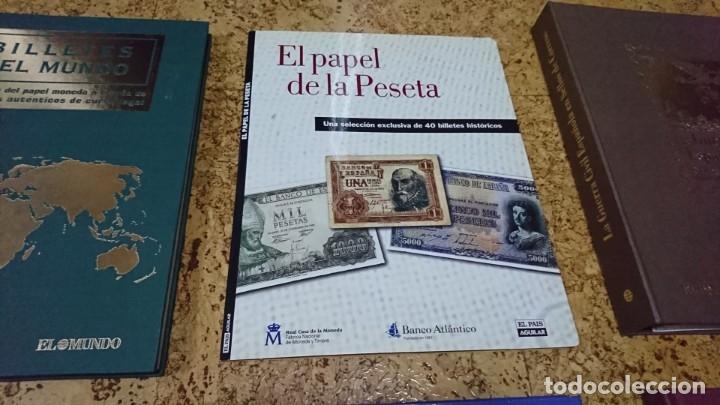 Sellos: LOTE, BILLETES, SELLOS, EL FRANQUISMO EN SELLOS Y BILLETES, HISTORIA DE LA PESETA - Foto 3 - 173943104