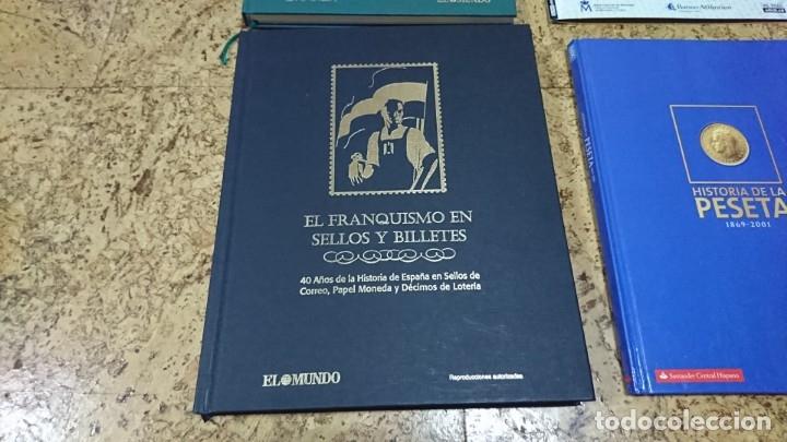 Sellos: LOTE, BILLETES, SELLOS, EL FRANQUISMO EN SELLOS Y BILLETES, HISTORIA DE LA PESETA - Foto 5 - 173943104