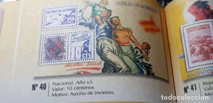 Sellos: LA GUERRA CIVIL ESPAÑOLA: NACIONAL S/F 10 CÉNTIMOS - Foto 2 - 177197523