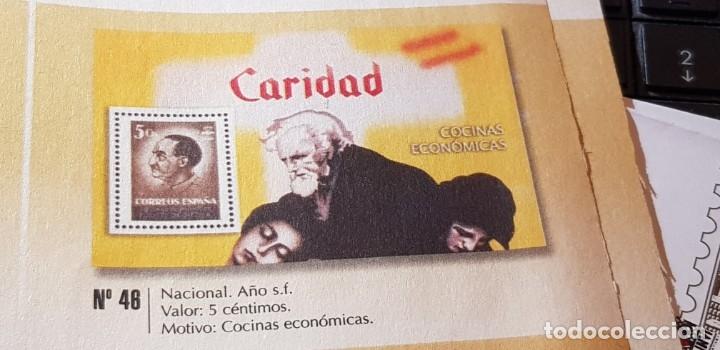 Sellos: LA GUERRA CIVIL ESPAÑOLA: NACIONAL S/F 5 CÉNTIMOS - Foto 2 - 177198230