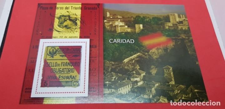 LA GUERRA CIVIL ESPAÑOLA: NACIONAL S/F 5 CÉNTIMOS (Filatelia - Sellos - Reproducciones)