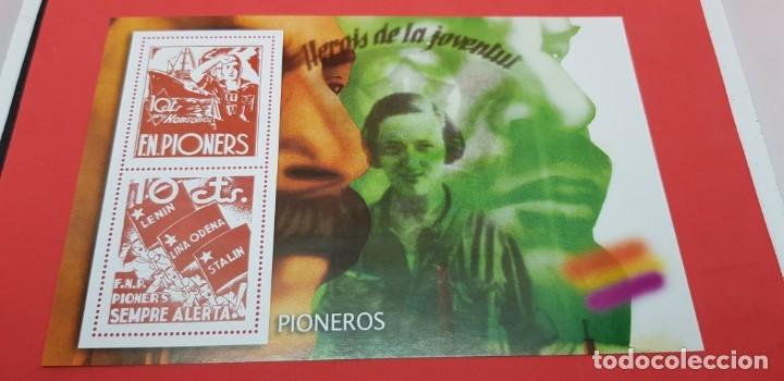LA GUERRA CIVIL ESPAÑOLA: REPUBLICANO S/F 10 CÉNTIMOS (Filatelia - Sellos - Reproducciones)