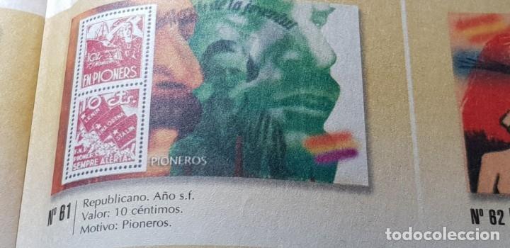 Sellos: LA GUERRA CIVIL ESPAÑOLA: REPUBLICANO S/F 10 CÉNTIMOS - Foto 2 - 177199792