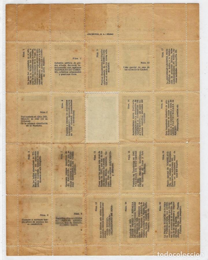Sellos: VIÑETAS 1ª EXPOSICIÓN FILATELICA TORRELAVEGA CON FALLO - Foto 2 - 178645186