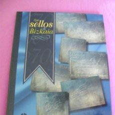 Sellos: LOS SELLOS DE BIZKAIA (VIZCAYA) PLATA. Lote 178956200