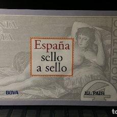Sellos: ESPAÑA SELLO A SELLO. SELECCIÓN DE 330 SELLOS REPRODUCIDOS. COLECCIÓN LIMITADA Y NUMERADA. . Lote 179194490