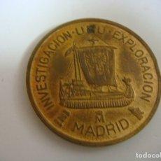 Timbres: MONEDA INVESTIGACION URU EXPLORACION MADRID FERIA NACIONAL DEL SELLO AÑO 1991. Lote 181813600
