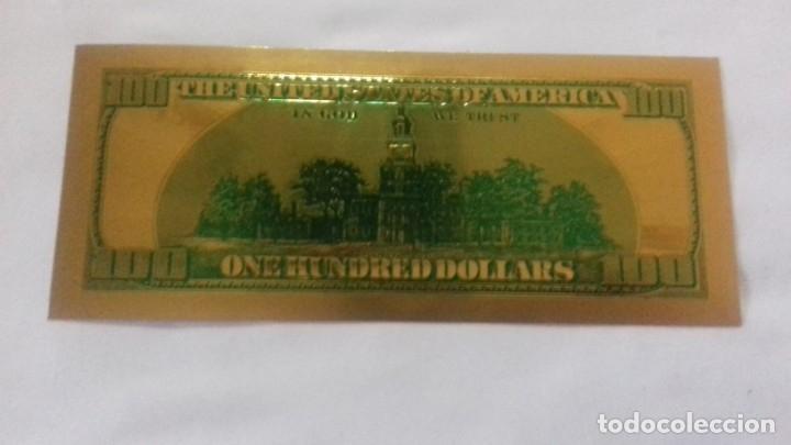 Sellos: Lote de de billetes de 100 $ mas regalo de otro de 500 Euros - Foto 12 - 183323152