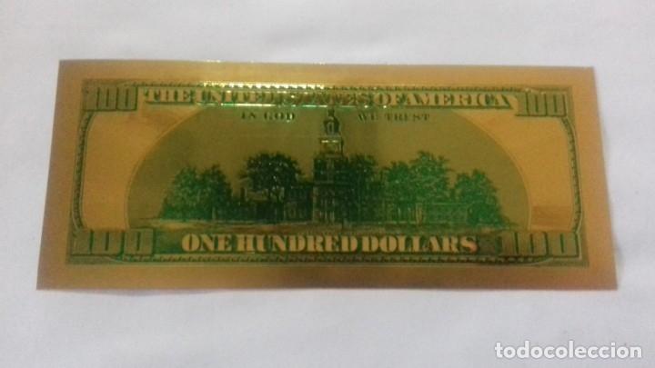 Sellos: Lote de de billetes de 100 $ mas regalo de otro de 500 Euros - Foto 13 - 183323152