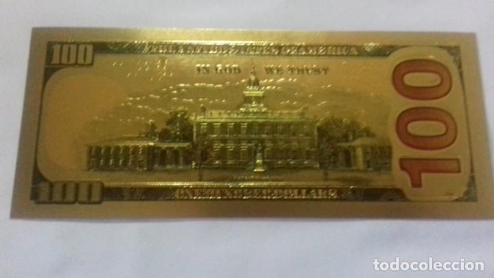 Sellos: Lote de de billetes de 100 $ mas regalo de otro de 500 Euros - Foto 18 - 183323152