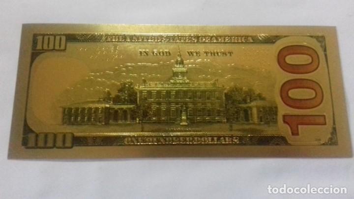Sellos: Lote de de billetes de 100 $ mas regalo de otro de 500 Euros - Foto 19 - 183323152