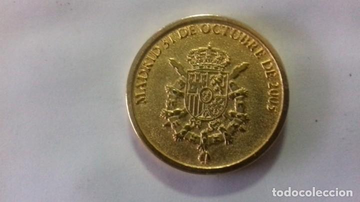 Sellos: Moneda en metal dorado del nacimiento de la Infanta Leonor - Foto 5 - 183325465