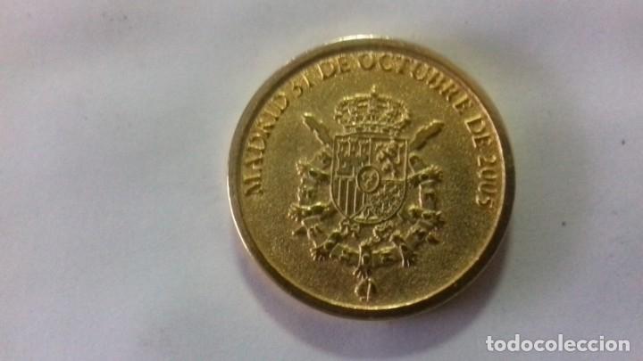 Sellos: Moneda en metal dorado del nacimiento de la Infanta Leonor - Foto 7 - 183325465