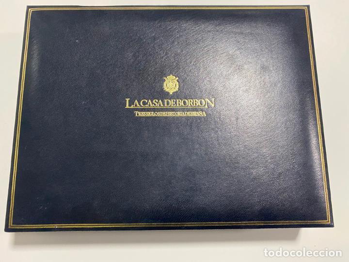 Sellos: COLECCIÓN LA CASA DE BORBÓN EN PLATA MACIZA 925 , CHAPADAS EN ORO , ED. LIMITADA , SELLOS - Foto 6 - 185785602
