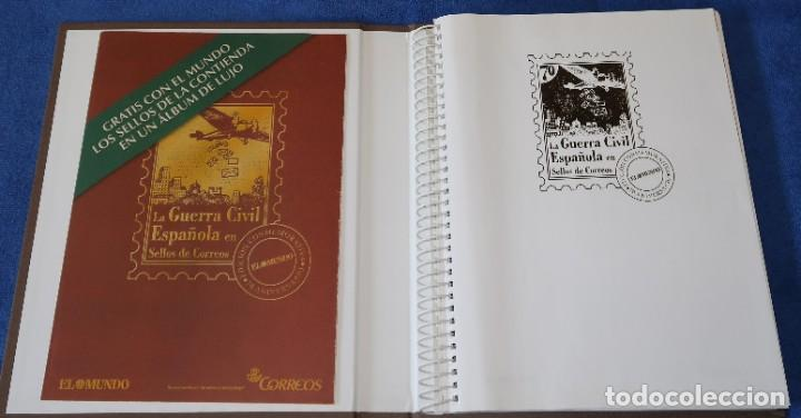 Sellos: La guerra Civil española en sellos de Correos - El Mundo - Afinsa (2006) ¡Completo! - Foto 2 - 186143061