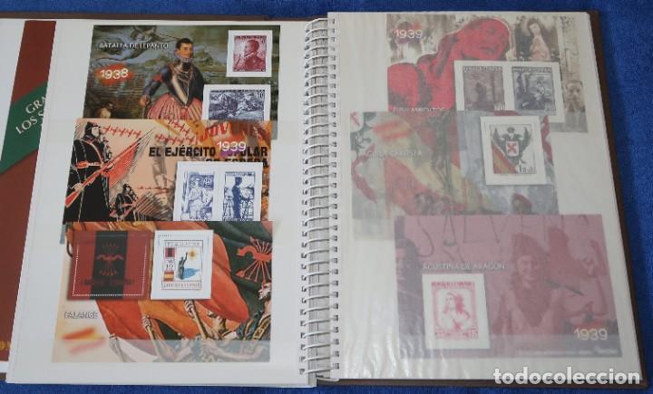 Sellos: La guerra Civil española en sellos de Correos - El Mundo - Afinsa (2006) ¡Completo! - Foto 5 - 186143061