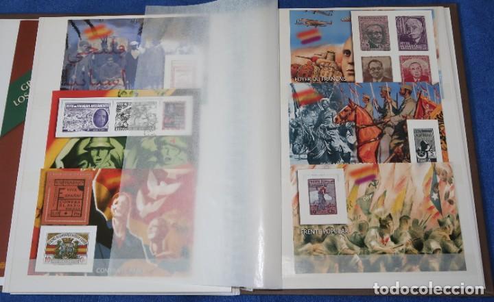 Sellos: La guerra Civil española en sellos de Correos - El Mundo - Afinsa (2006) ¡Completo! - Foto 8 - 186143061