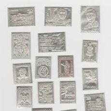 Sellos: COLECCION DE 16 SELLOS DE PLATA DE ALMERIA. Lote 186223195