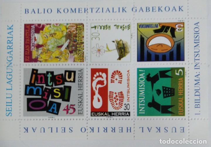 EUSKAL HERRIKO SEILUAK. 1. BILDUMA: INTSUMISIOA (Filatelia - Sellos - Reproducciones)