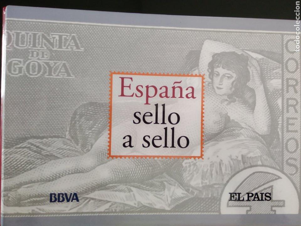 COLECCIÓN ESPAÑA SELLO A SELLO INCOMPLETA. (Filatelia - Sellos - Reproducciones)