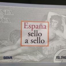 Sellos: COLECCIÓN ESPAÑA SELLO A SELLO INCOMPLETA.. Lote 189095276